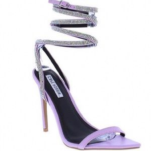 Shoes - Lavender pointed toe heel
